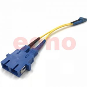 SC Female - LC Male Singlemode Duplex Adapter Cable